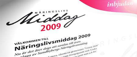 Näringslivsmiddag: Sundbyberg 2020